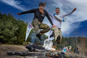 Extreme Wolf, extreme wolf 2021, na gołą klatę, bieg, Szczecin, Grzepnica, sport