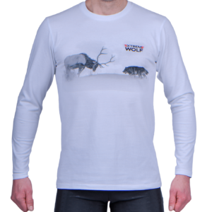 Koszulka z długim rękawek Extreme Wolf sport bieganie koszulka do biegania