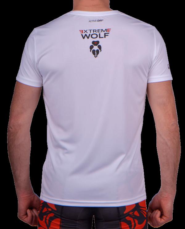 koszulka biegowa, koszulka treningowa, koszulka, wataha, bieganie, sport, tył