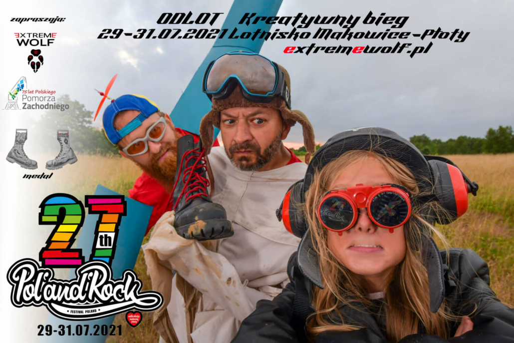 Odlot Poland Rpck Festiwal pol'and'rock bieg kreatywny