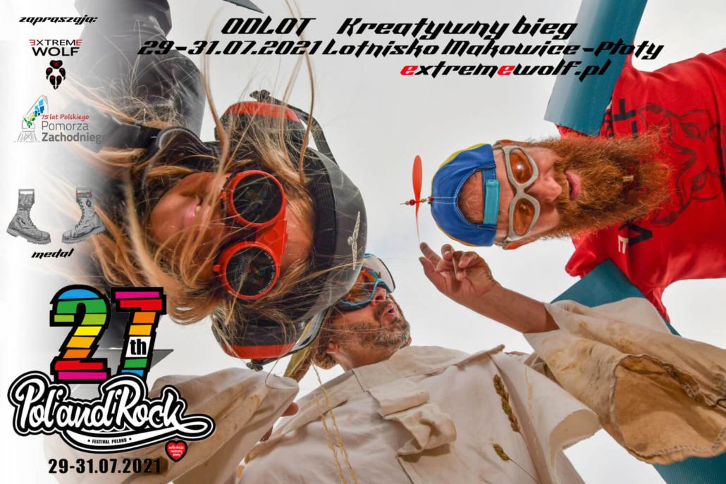 Odlot Kreatywny Bieg poland rock festiwal