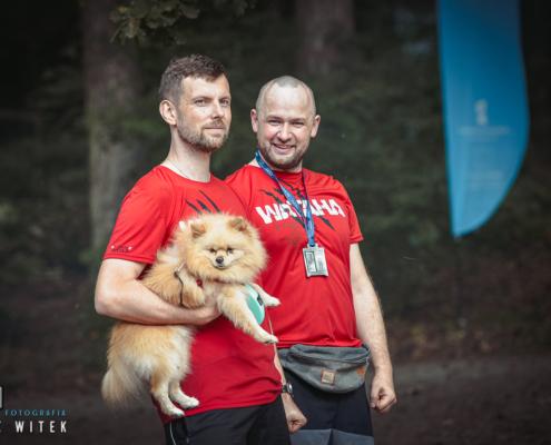 Wataha bieg extreme wolf las arkoński szczecin pies