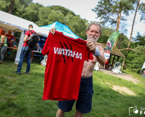 Wataha bieg extreme wolf, szczecin, czerwona koszulka