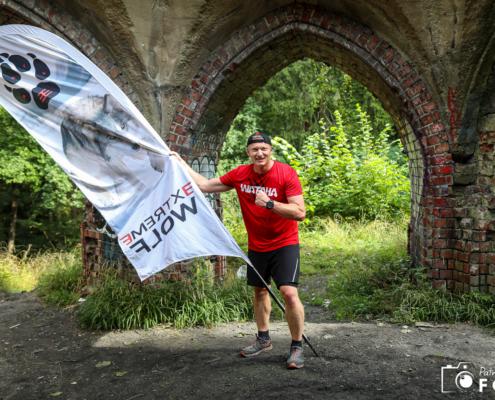 Wataha bieg extreme wolf, szczecin, flaga